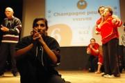 [Impro Paris Rencontre d'impro avec les Malades de l'Imaginaire à Jean Dame 220]